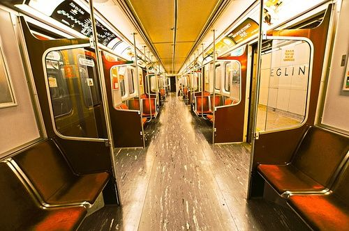 Inside the TTC.