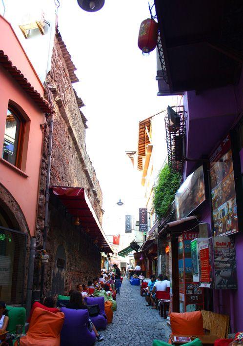 Barrio de Ortaköy, Estambul, Turquía