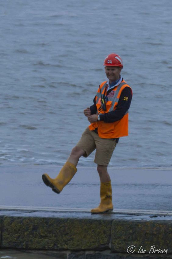 Want to know what Dan is doing here? Come & ask him at our recruitment day tomorrow 10-3 #RNLI #Volunteers #ItCouldBeYou