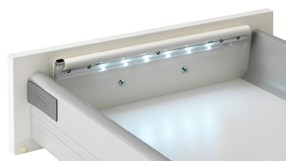 Ikea's new Dioder strip lights will bring some much needed illumination to drawers, cupboards, and closets.The $15 Dioder's six AAAs, the LEDs automatically illuminate for 15 seconds when a door the sensor is exposed to light, and automatically turn off after five seconds in the dark. Mounting is a couple of screws, or just relying on a set of adhesive pads, and once in place you'll never accidentally grab your dark blue socks instead of the black pair again. [Ikea via TheGreenHead]
