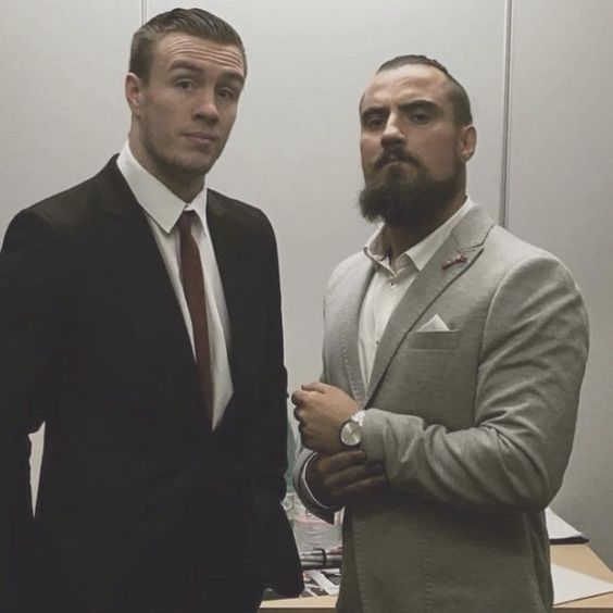 Will Ospreay and Marty Scurll