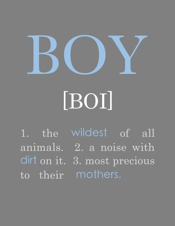 A personal favorite from my Etsy shop https://www.etsy.com/listing/263483950/definition-for-boy-instant-download