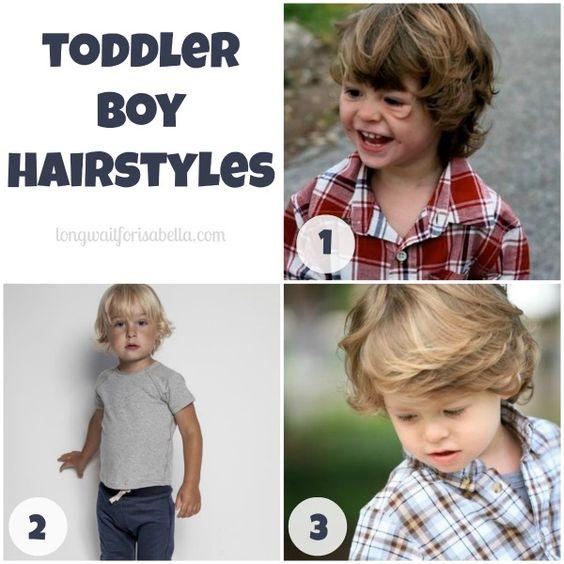Admirable Boys Haircut Long And Sons On Pinterest Short Hairstyles Gunalazisus