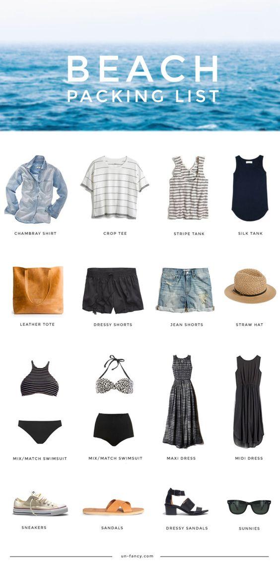 beach-packing-list