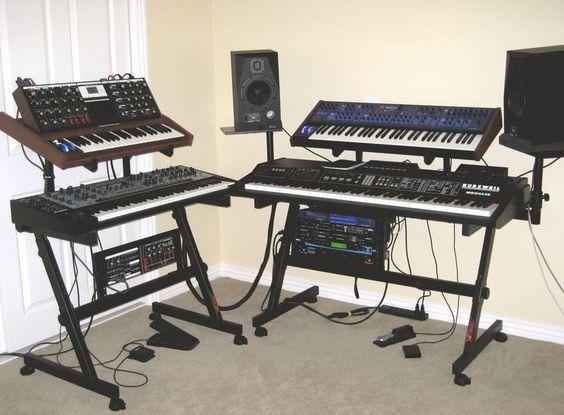 Writing com keyboard z stand
