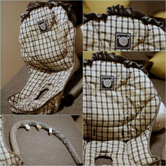 DIY Baby Swing Seat Cover #diy #crafts