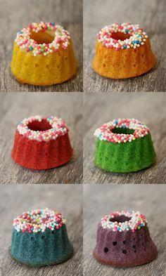 ZuckerkuchenEule: Kunterbunte Mini-Gugl