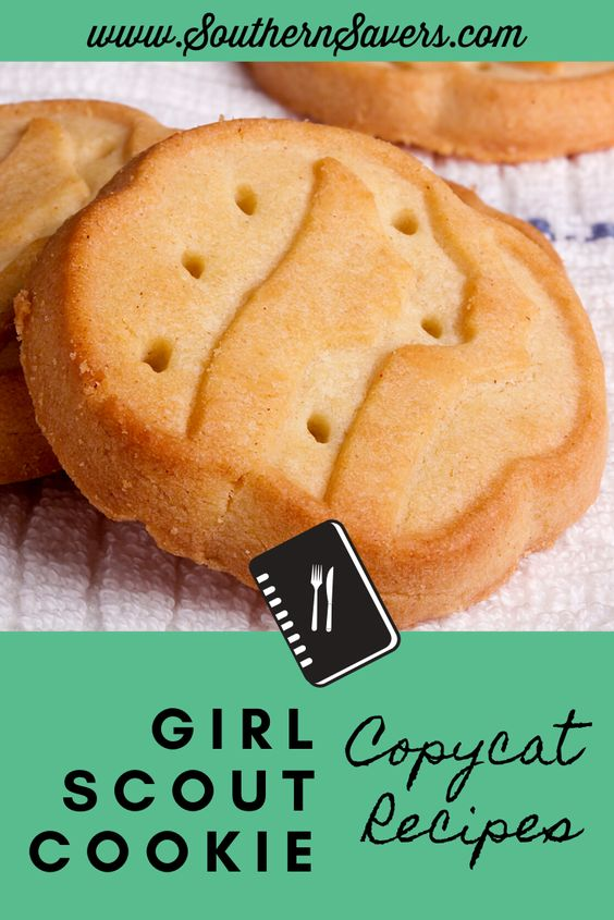 Girl Scout Cookie Copycat Recipes