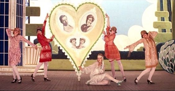 """Time for another viewing of Ken Russell's """"The Boyfriend"""" - one of my favorites.  Starring Twiggy!"""