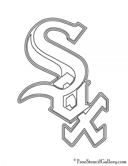 Blank Boston Red Sox Coloring Pages