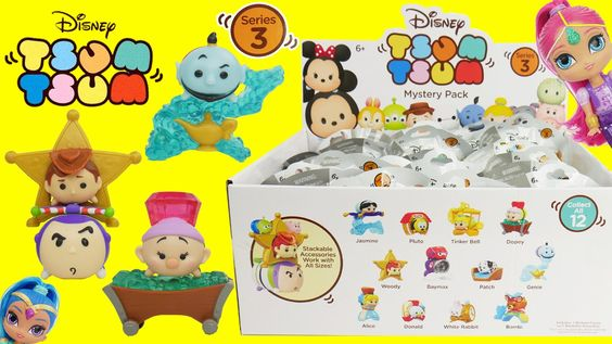 Tsum Tsum Series 3 Disney Mystery Stack Pack Blind Bags