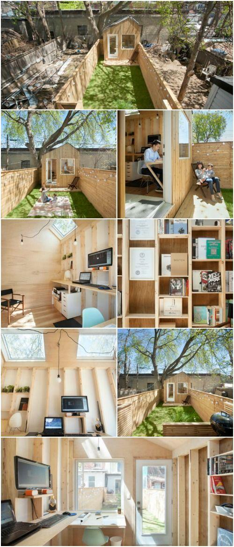 This 100 Square Foot Garden Studio Is A Walled Oasis Garden Studio Studio Interior Outside Room