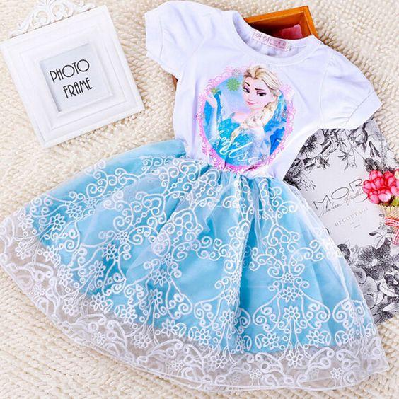 Barato 2015 nova verão bonito Anna Elsa roupas da criança do bebê vestido crianças princesa vestidos reino unido, Compro Qualidade Vestidos diretamente de fornecedores da China:   [Xlmodel]-[Custom]-[10121]  [Xlmodel]-[Custom]-[10121]  [Xlmodel]-[Custom]-[10121]  [Xlmodel]-[Custom]-[10121]  [Xlmod