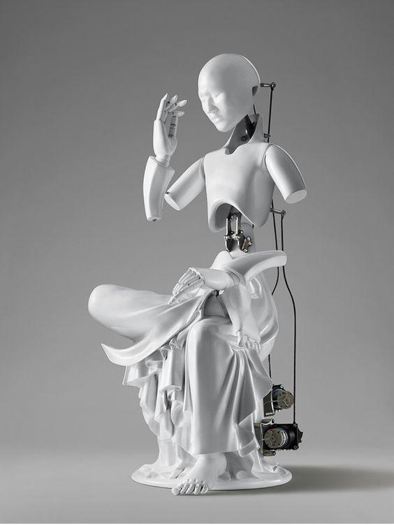 Meditating Machinery: Mechanical Buddhas by Wang Zi Won