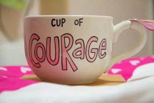 Taza de coraje!