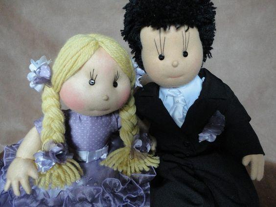 boneca para casamento