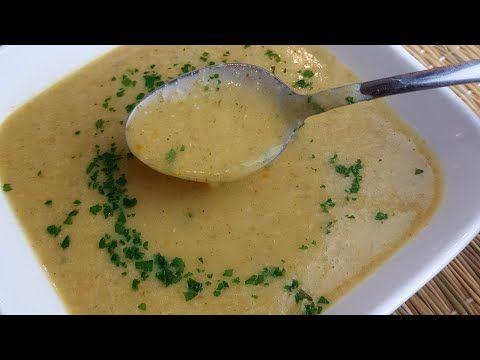 شوربة الشوفان بالخضار Soupe De Flocons D Avoine Et Aux Legumes Youtube Soup Chowder Food