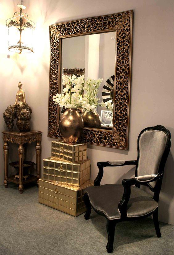 Espejos decorativos para sala 1 home design ideas - Decoracion con espejos ...