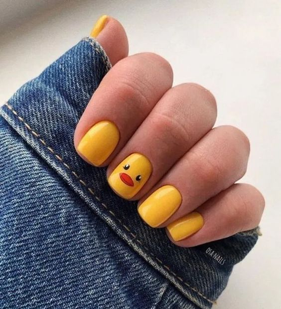 50 Cute Nail Designs Nail Art Ideas To Try In 2020 Short Square Acrylic Nails Square Acrylic Nails Short Acrylic Nails