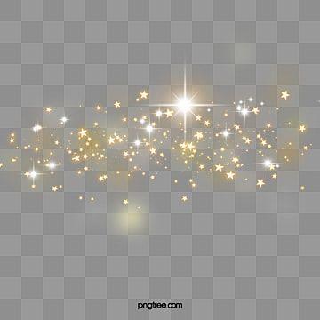 Etoiles Scintillantes Effet De Lumiere Doree Eclair De Lumiere Eclat Cadre Fichier Png Et Psd Pour Le Telechargement Libre Lights Background Star Background Glitter Frame