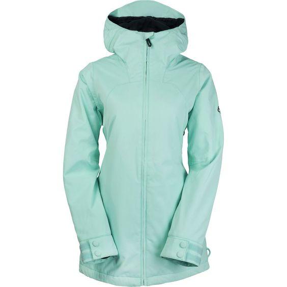 686 - Authentic Smarty Haven Jacket - Women's - Dusty Aqua