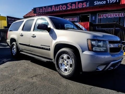 2007 Chevrolet Suburban 2wd 4dr 1500 Lt Chula Vista California Auto Dealer Offers Used And New Cars Great Chevrolet Suburban Chevy Suburban Chevrolet Volt
