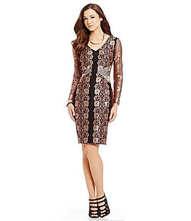 Antonio Melani Adrian Lace Sheath Dress #Dillards