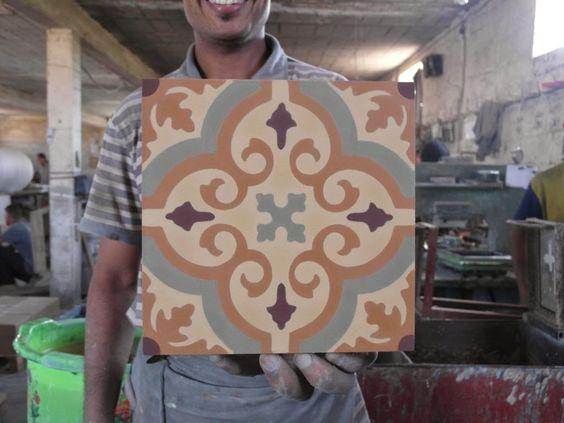 Mosaico Zementfliesen