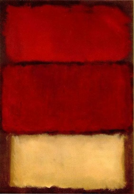 Gallery For > Rothko Red White
