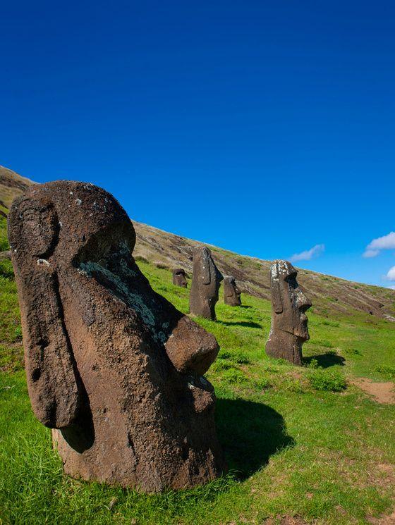 Les plus beaux sites du patrimoine mondial de l'unesco - rapa nui ile de paques chili: