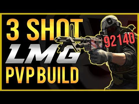The Division 2 | 3 Shot LMG PVP BUILD! Best DAMAGE Build for PVP ...
