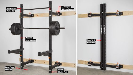 Half Rack Bench Press And Squats On Pinterest