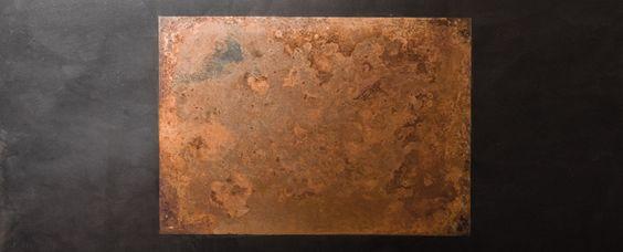 Métallisation à froid   BETON CIRE NANTES LA BAULE - ATELIER DESIGN: application de béton ciré, métallisation à froid, création de mobilier design