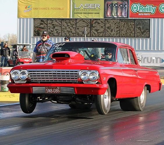 Austin Vaughn's '62 Chevy Belair with a 509ci big block! #Chevy #ClassicsDaily