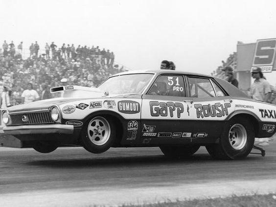 Vintage Drag Racing - Pro Stock - Gapp + Roush