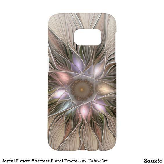 Joyful Flower Abstract Floral Fractal Art Samsung Galaxy S7 Case
