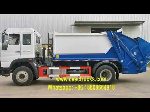 How To Operate A Garbage Compactor Truck Trucks Compactor Garbage