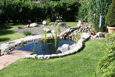 Gartenteich Anlegen Bepflanzen Pflegen Gartengestaltung Gartenteich Wasserspiel Garten