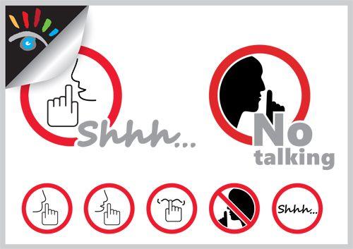 Shhh Stilte Niet Praten Logo Shhh Dit Geluid Wordt Vaak Gebruikt Om Een Mensen Stiller Te Laten Zijn Grafische Ontwerpers Cartoons Grafisch Ontwerp
