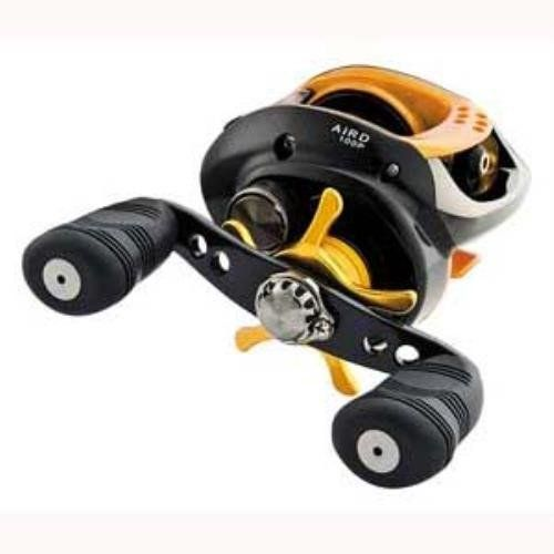 If you are looking to get started with a baitcast reel Daiwa is a good choice and this one won't break the bank. - Daiwa AIRD Baitcast Reel