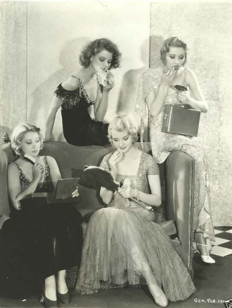 Marian Marsh and friends.    C. 1930s
