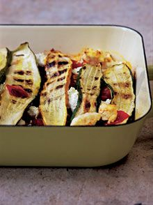 Nigel Slater Courgette and Ricotta Bake