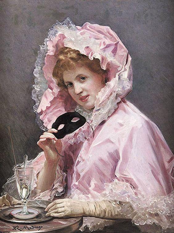 Garreta Raimondo de Madrazo (Rome 1841 – 1920) .@@@@......http://www.pinterest.com/caroleminiature/histoire-de-femmes/: