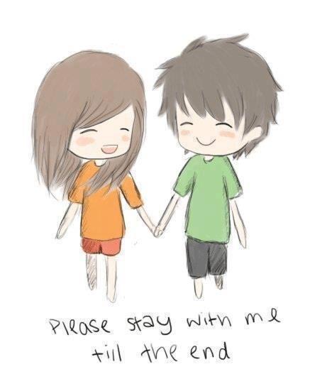 chibi neko boy and girl
