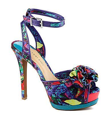 Gianni Bini Milah Ruffle Dress Sandals #Dillards  I just got these at Dillard's and I LOVE them!!!!!