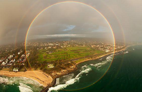 Circular Rainbow!  (: