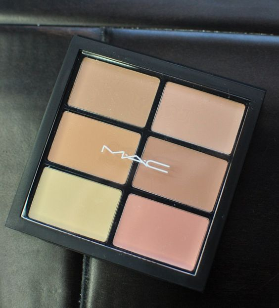 4 Ways To Use The MAC Pro Conceal & Correct Palette: