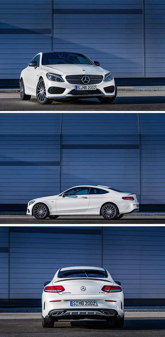 Instantly thrilling. The new Mercedes-Benz C-Class Coupé.