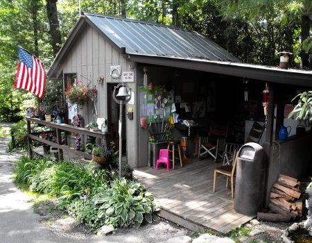 Linville falls trailer lodge campground off the blue for Linville falls cabin rentals