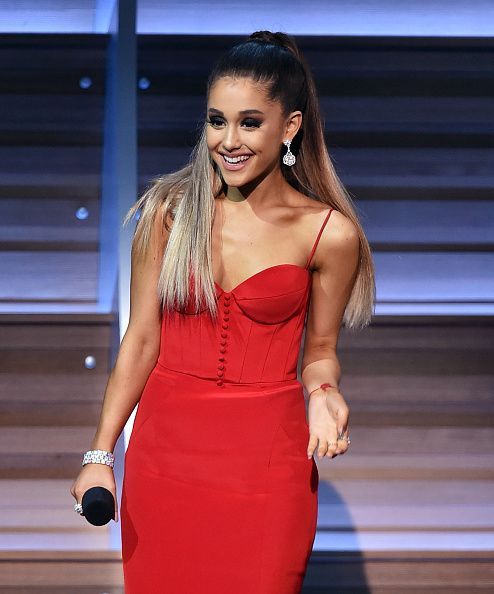 Ariana Grande at the 58th Grammy Awards (Show) - 15 february 2016